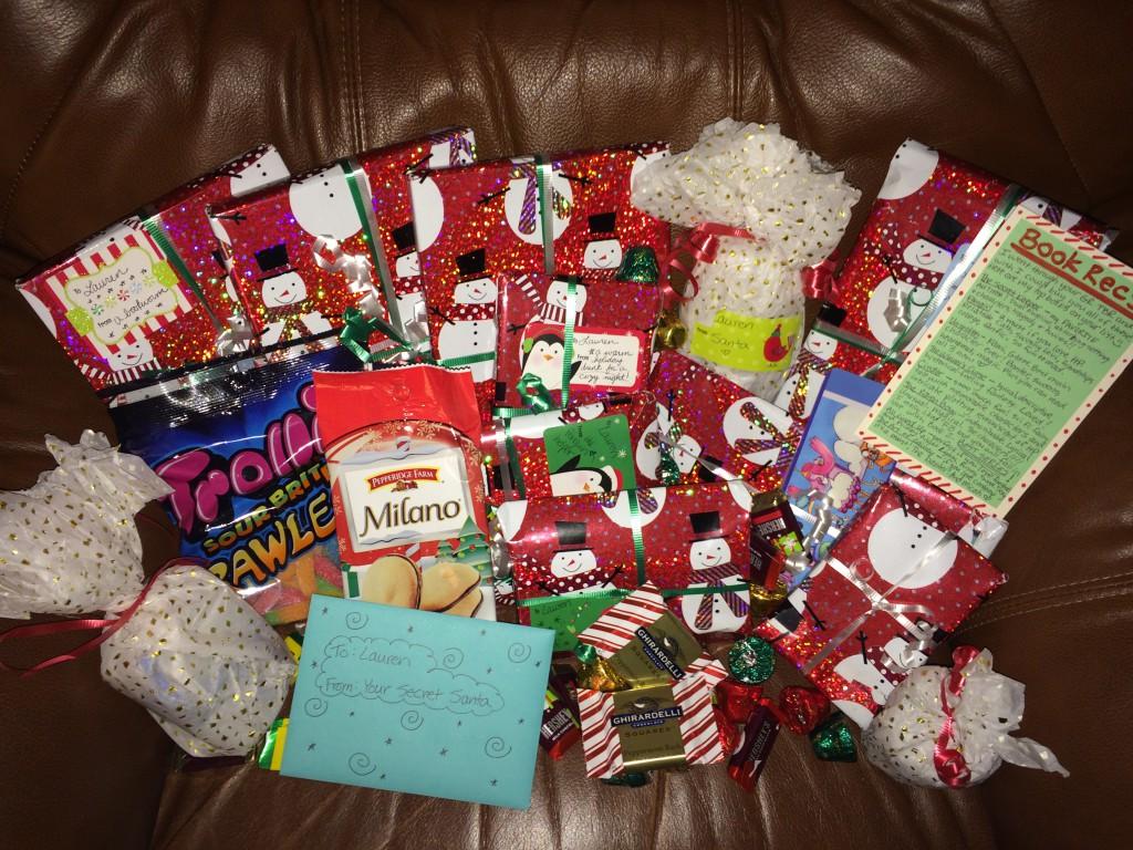 Secret Santa and Book Exchange Reveal