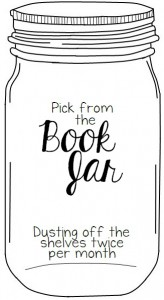 Pick from the book jar