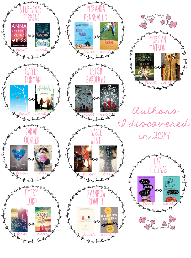 new to me authors 2014