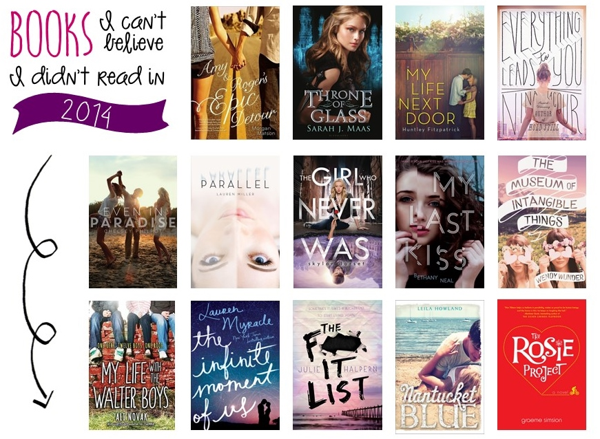 books i cant believe i didnt read 2014