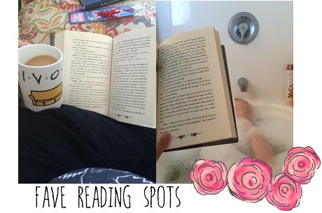 fave reading spots