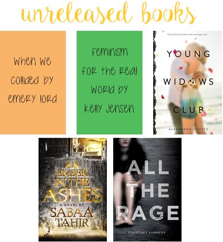 unreleased books