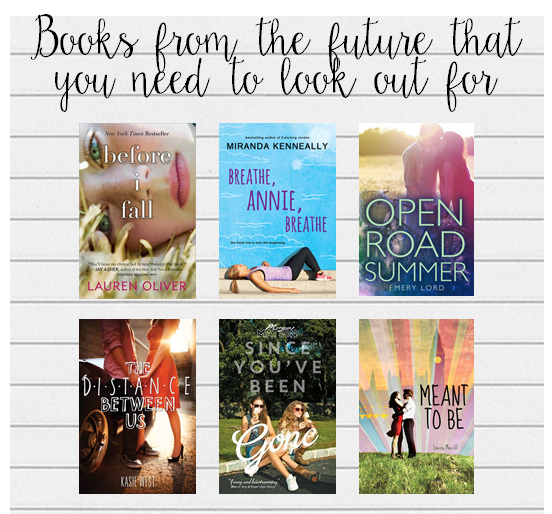 books from future YA self