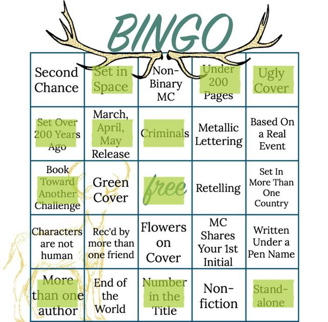 spring bingo march 20