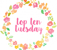 Top Ten Tuesdays #102: Beach Setting