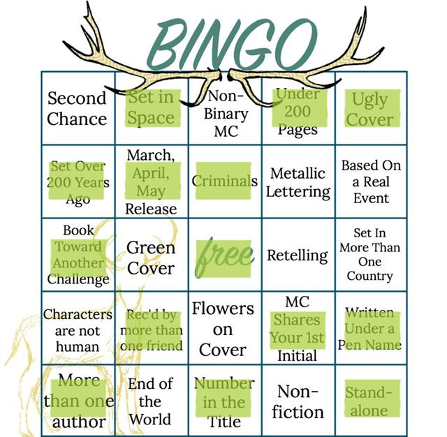 Bookish Bingo Read-a-Thon TBR and Tracking