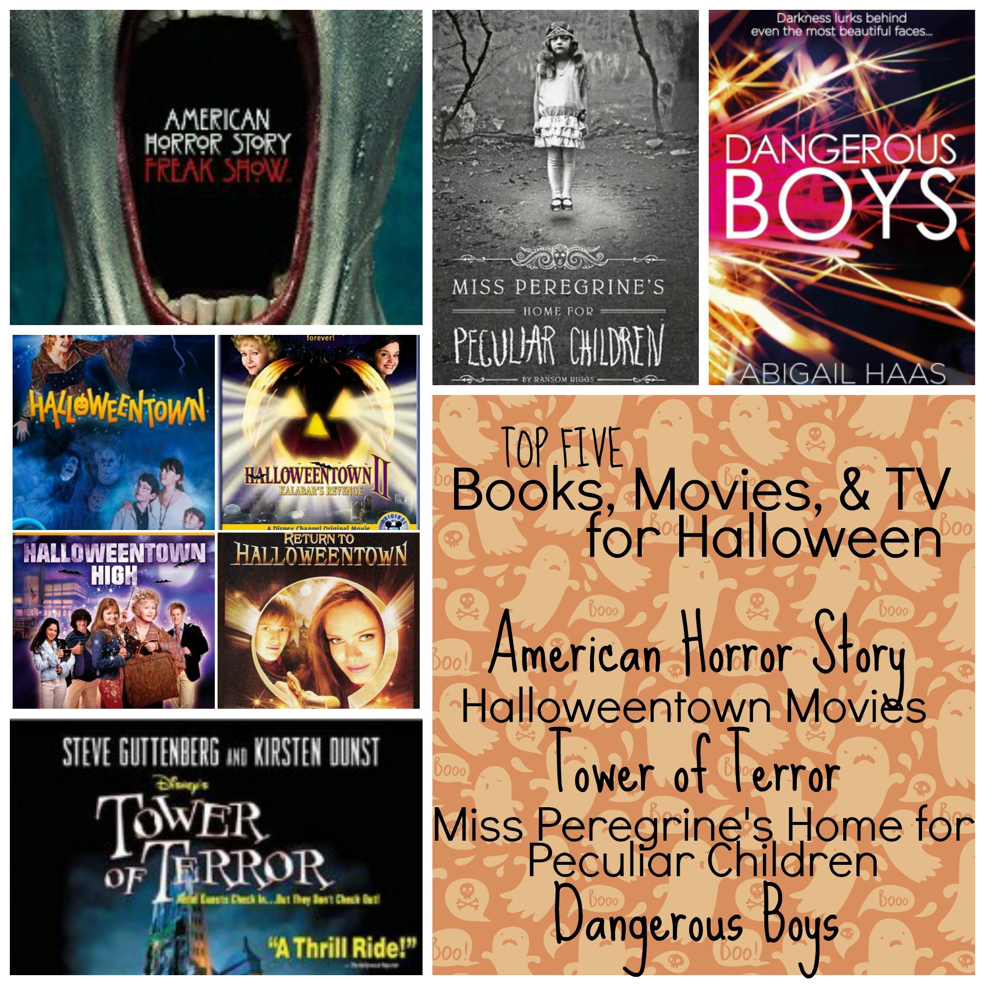 movies books halloween