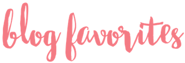 blog faves