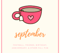 September Things and Autumn Bucket List (Round 2!) + IT'S MY BIRTHDAY