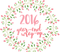 2016 Year-End Reading & Blogging Wrap-Up