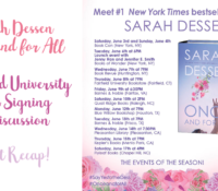 Once and For All – Sarah Dessen Event