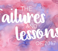 Failures and Lessons of 2017