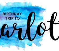 Birthday Trip to Charlotte