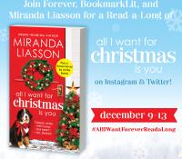 #AllIWantForeverReadALong Kickoff and Miranda Liasson Interview