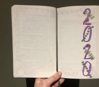 2020 Reading Bullet Journal